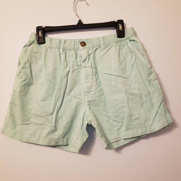 Shorts Chubbies Men Size Xl Summer Casual Elastic Waist Cotton Shorts Pale Blue Men's Clothing